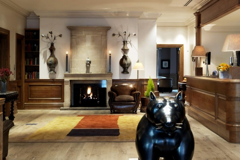 Charlotte Street Hotel - Lobby