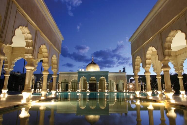 Palais Namaskar Restaurant Terrace