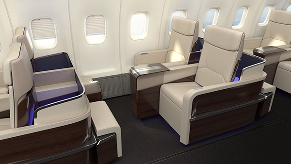Cabin Interior Design Four Seasons Private Jet