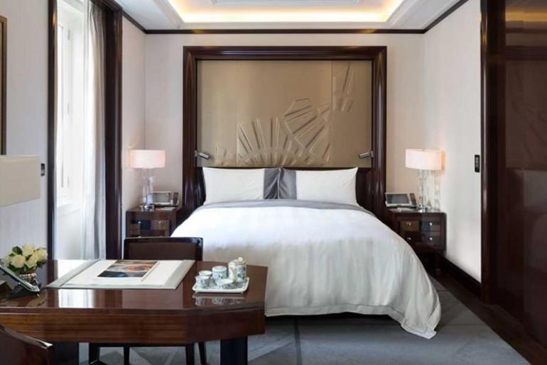 The Peninsula Paris Bedroom