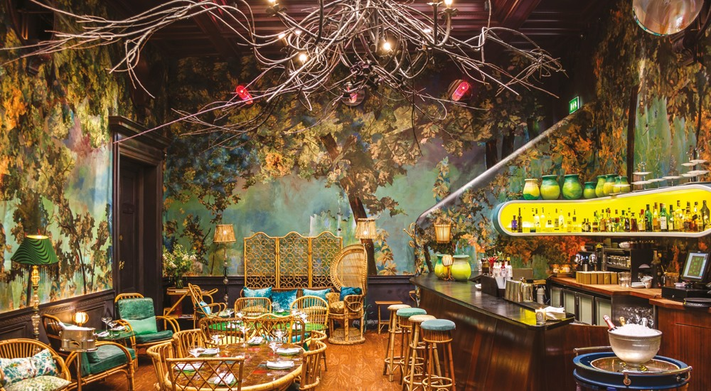 Unique restaurants in london the brothers 39 blog for Table 52 restaurant week 2015