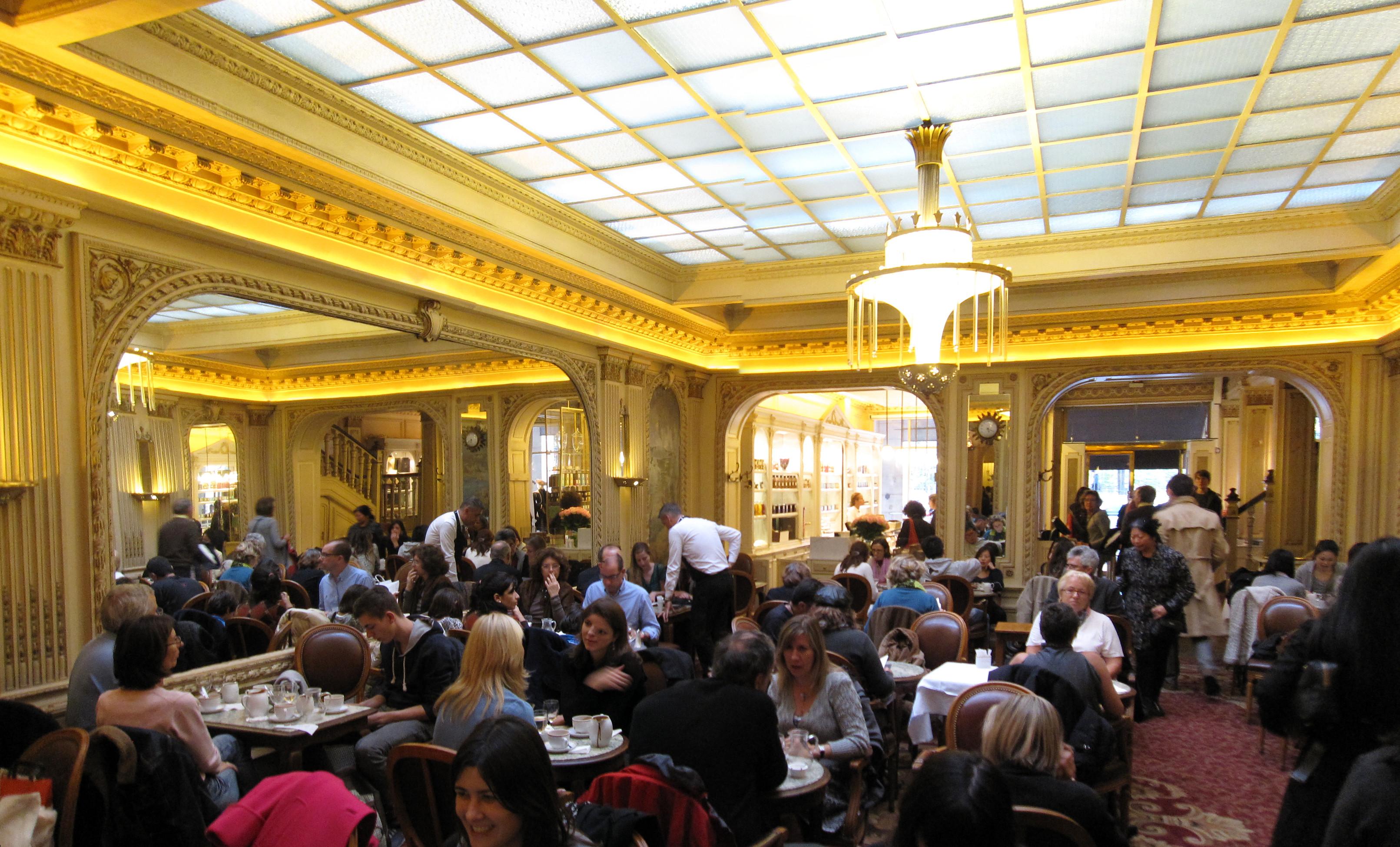 Cafe Angelina Paris Rue De Rivoli