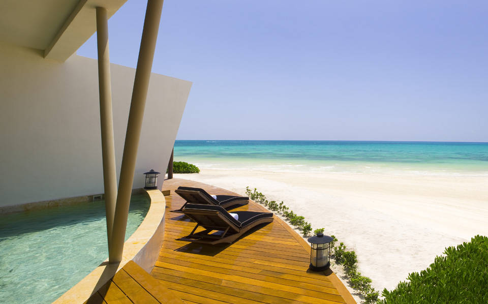 Rosewood Mayakoba Presidential Oceanfront Suite