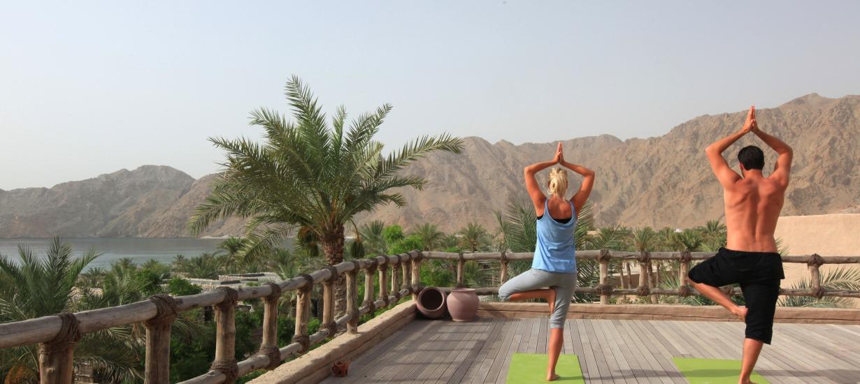 Six Senses Zhighy Bay Rooftop Yoga