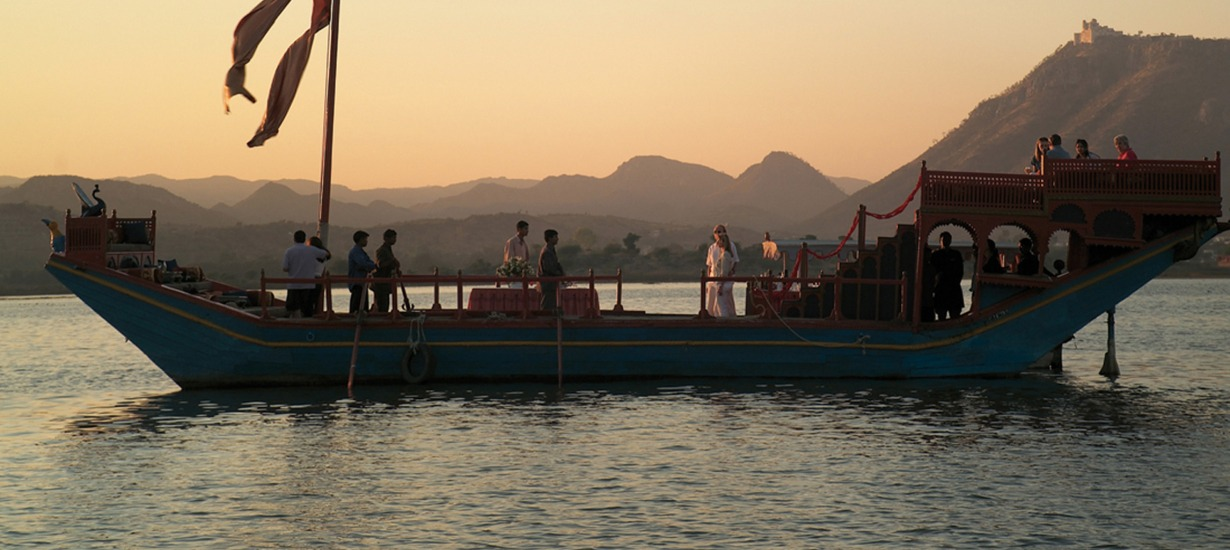 Taj Lake Palace Boat ride