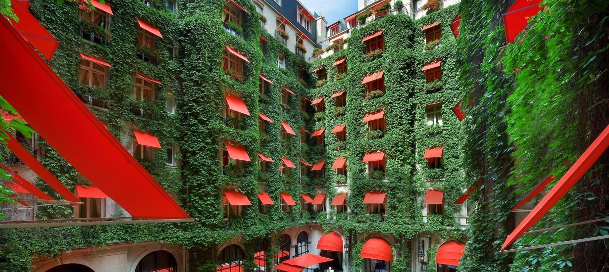 L'hotel plaza athenee exterior