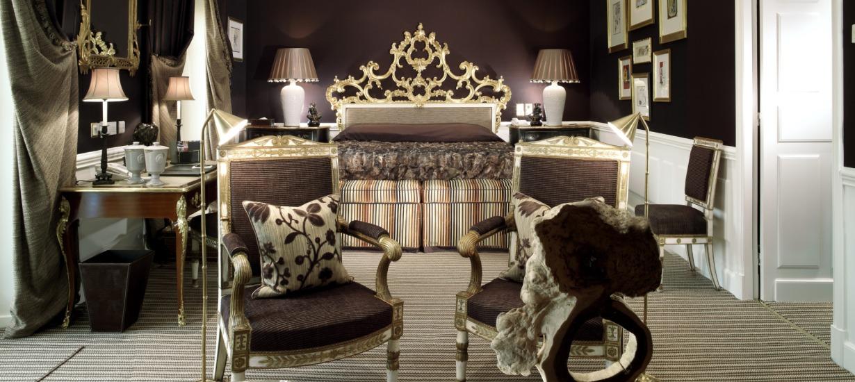 Hotel d'Angleterre Room
