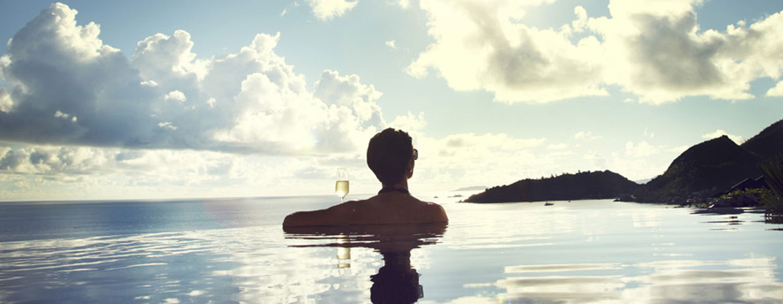 Raffles Praslin Seychelles PLunge Pool