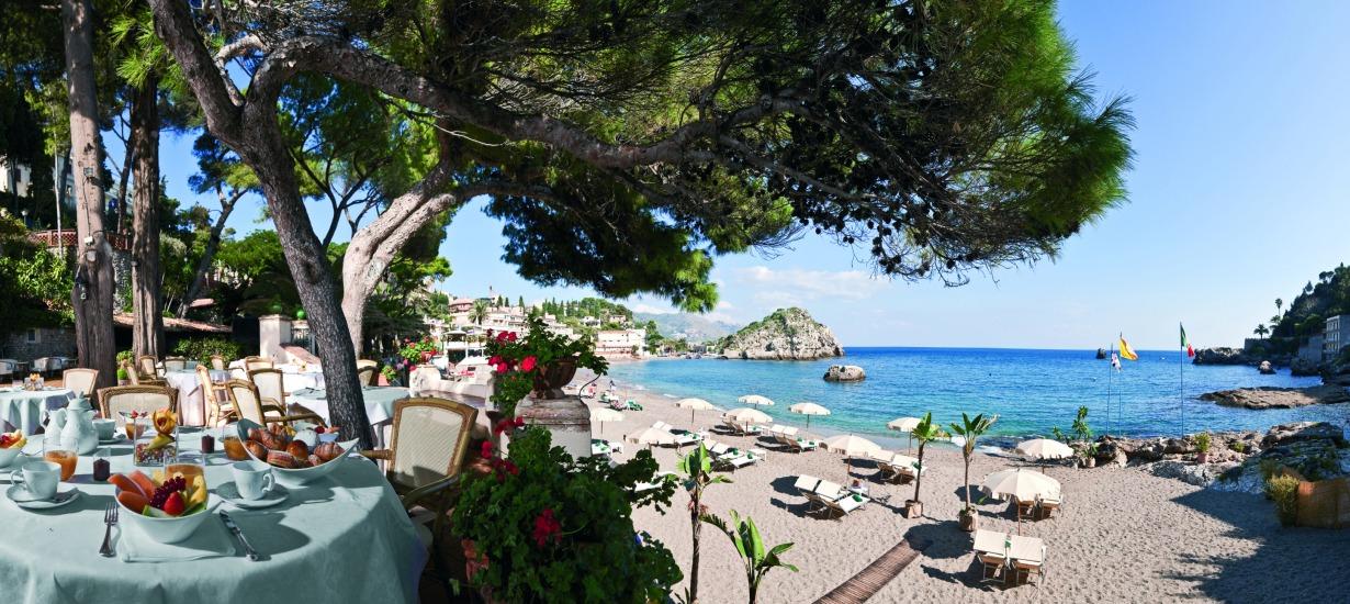 Amazing Beach Front Restaurants Belmond S'aant'Andrea 2