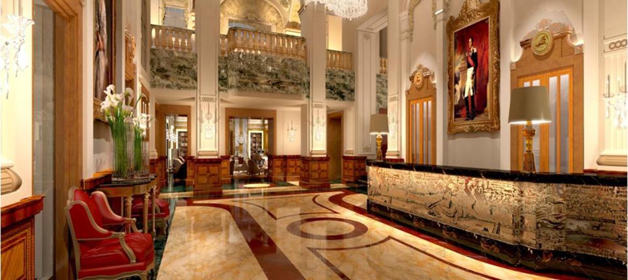 Hotel Imperial Vienna Lobby 4