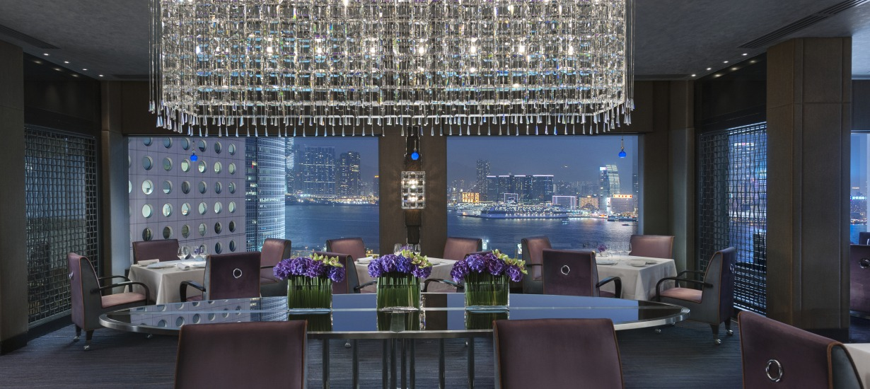 Top one bedroom suites in hong kong for Dining room hong kong