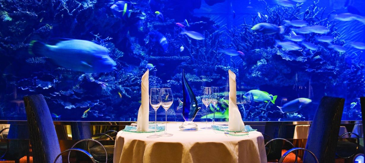 Most beautiful hotel restaurants, Burj Al Arab 3