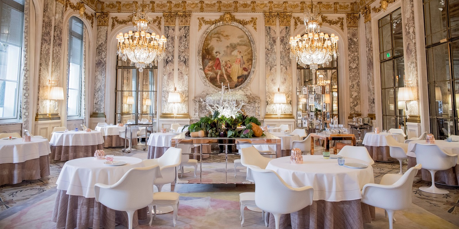 Most beautiful hotel restaurants, Le Meurice, Alain Ducasse