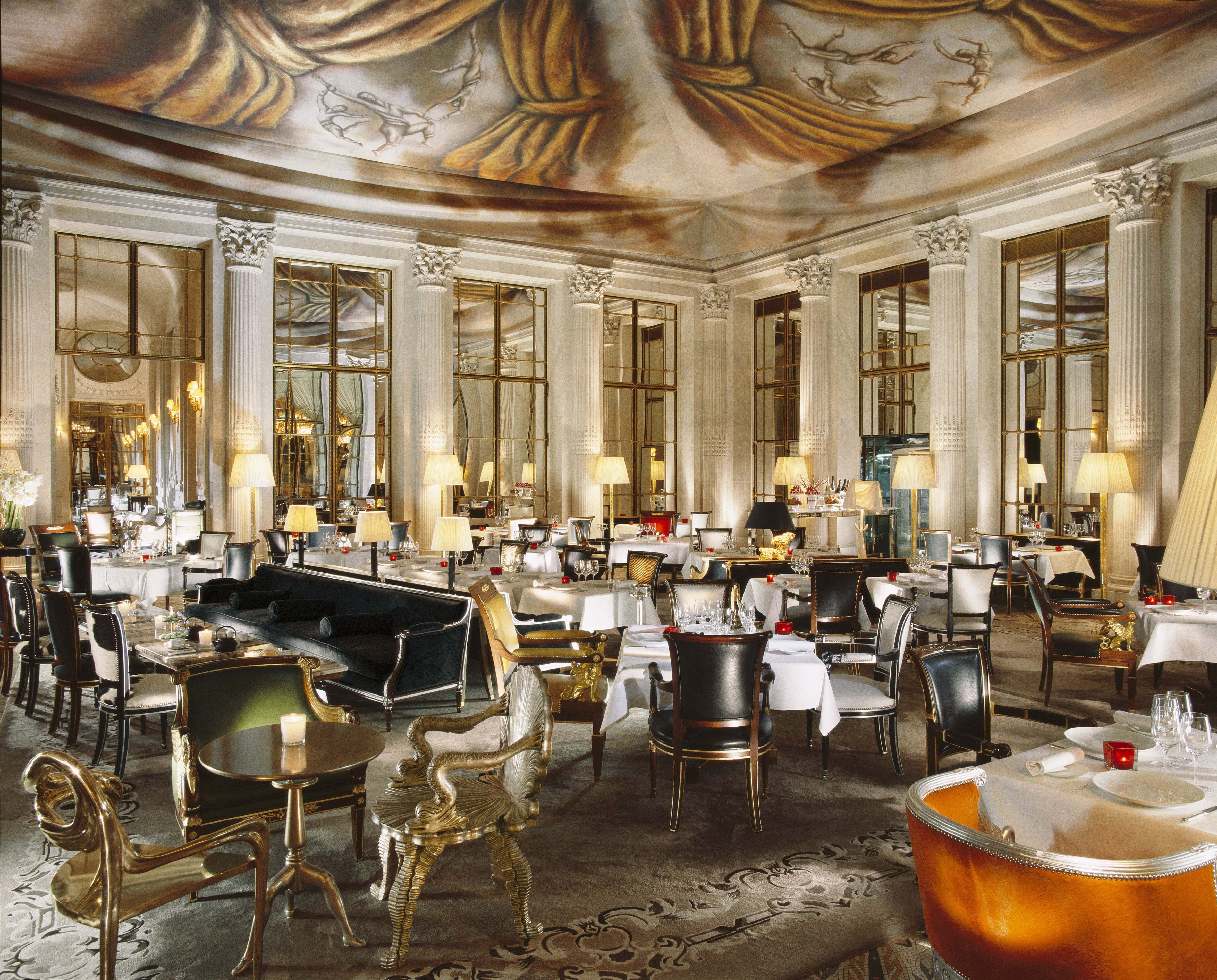 Most beautiful hotel restaurants, Le Meurice, Le Dali