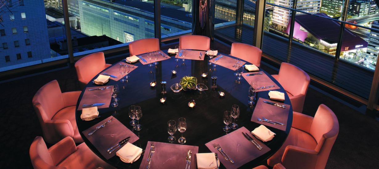 Most beautiful hotel restaurants, peninsula tokyo, peter pan 3