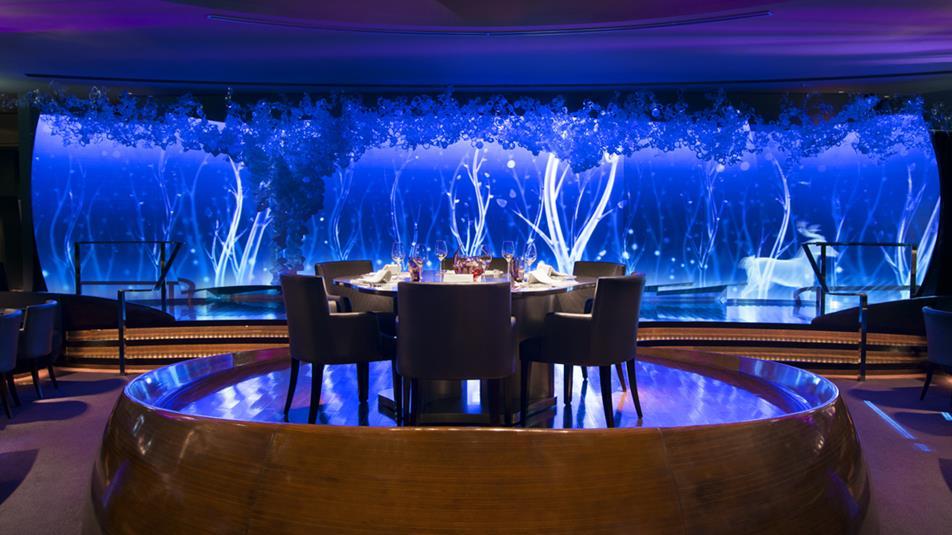 Most beautiful hotel restaurants, peninsula tokyo, peter pan 5