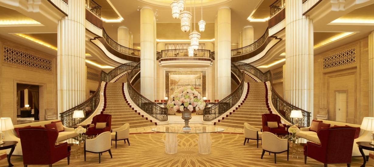 St Regis Abu Dhabi Lobby