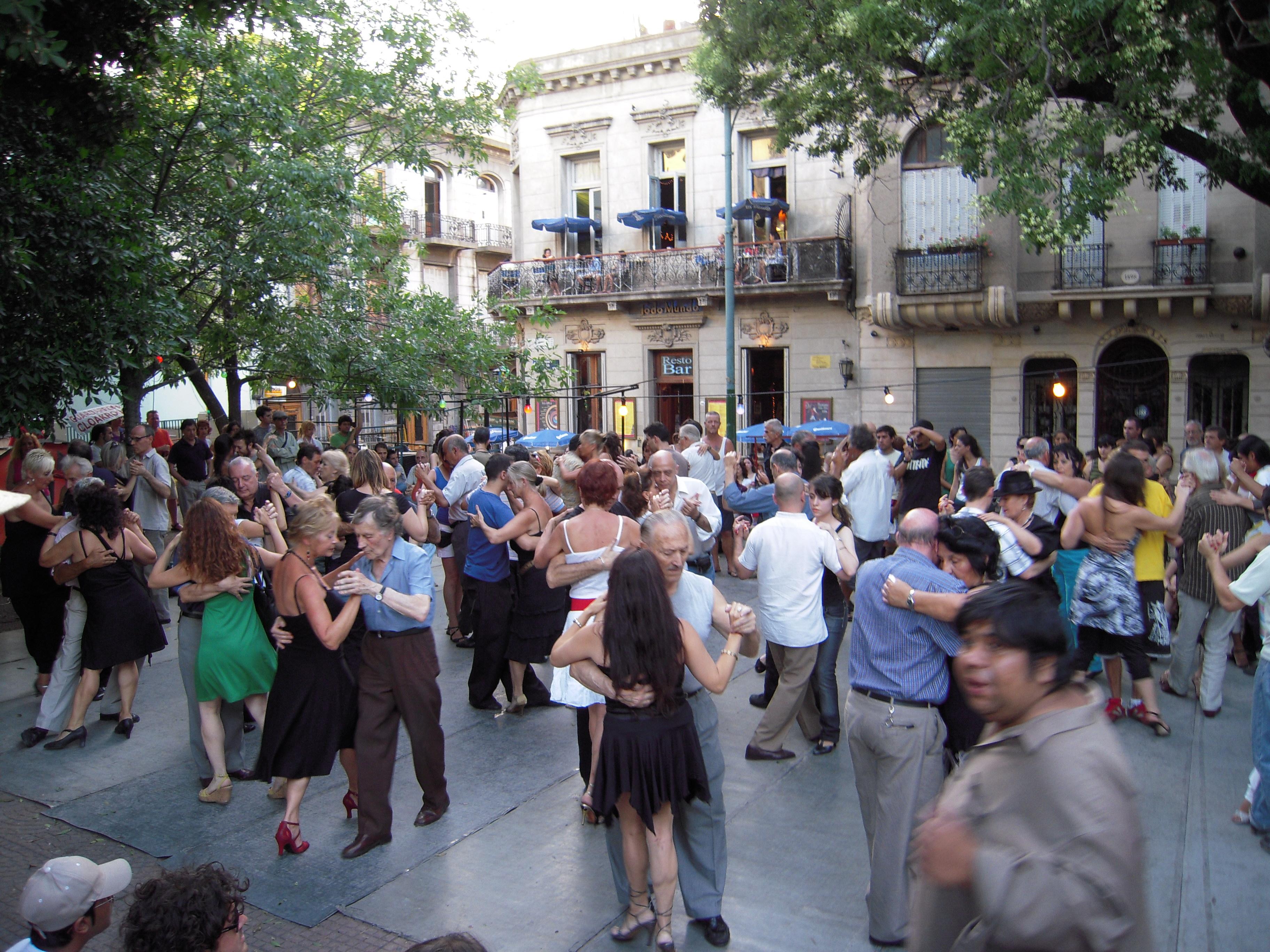 Buenos Aires outdoo Tango