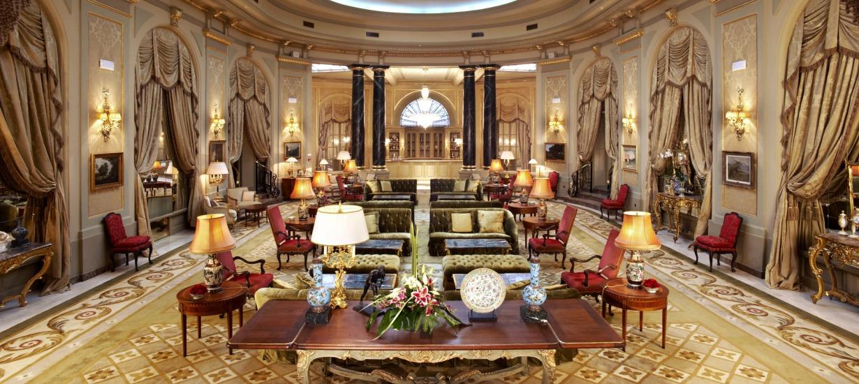 El Palace, Interiors Lobby