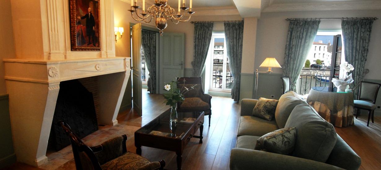 Hôtel de Toiras- Premier Suite Living Room