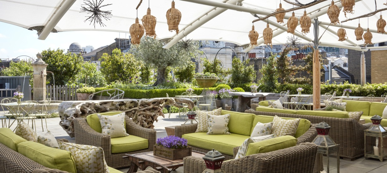Ham Yard Hotel Rooftop Terrace