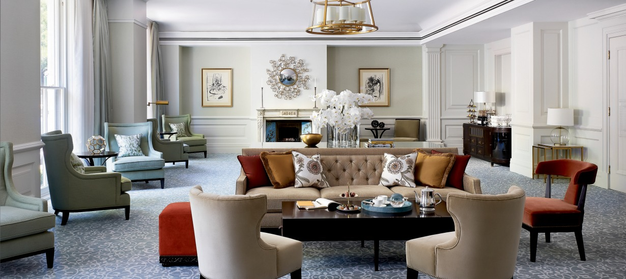 Langham Sydney lounge