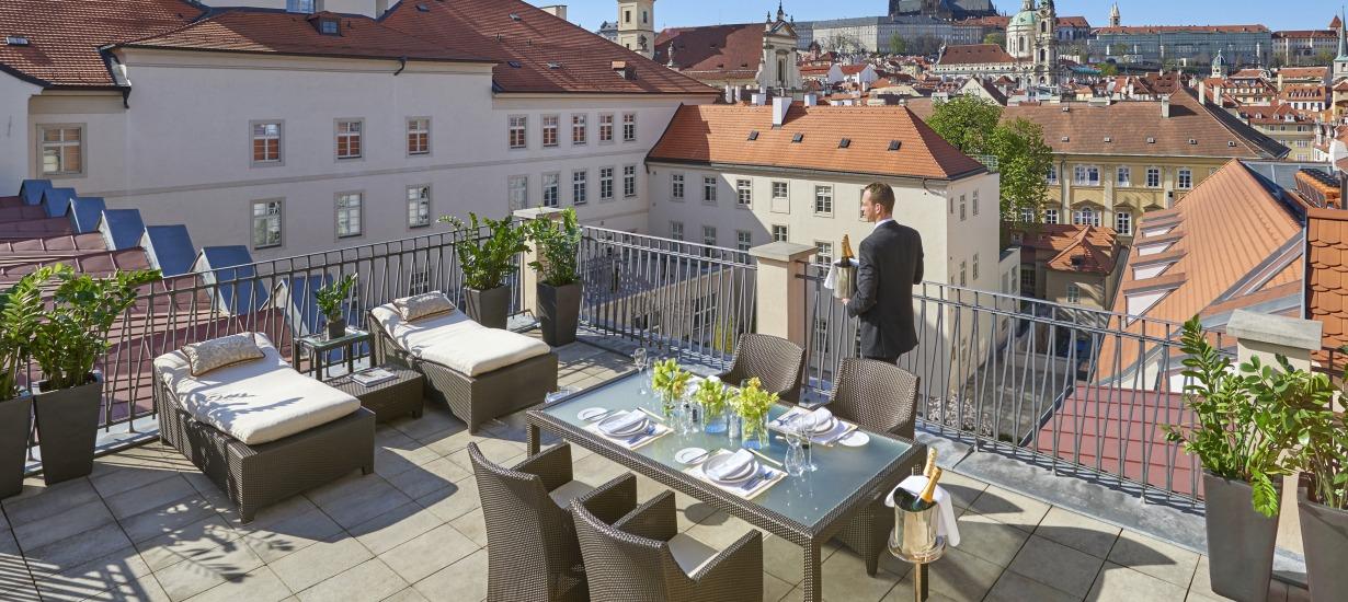 Mandarin Oriental Prague Rooftop