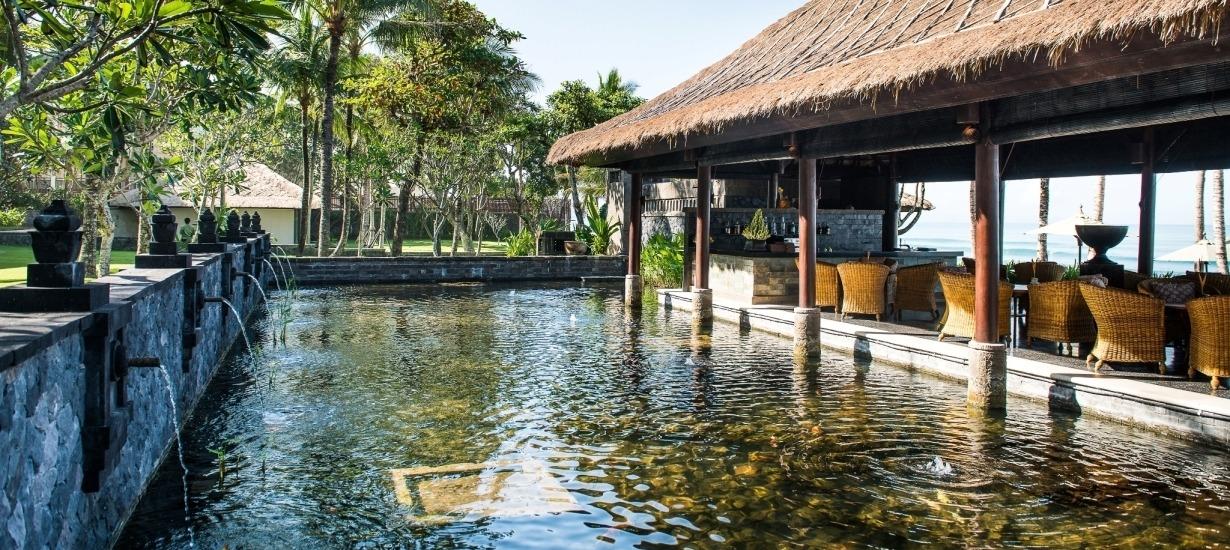 Legian Bali - Restaurant area