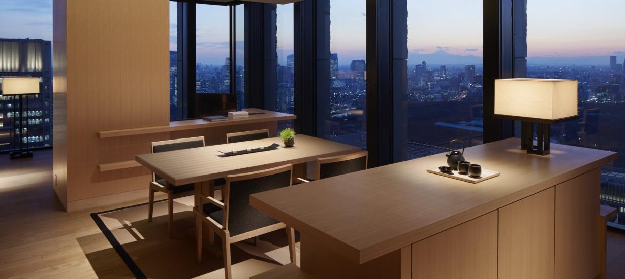 Aman Tokyo - Dining Room