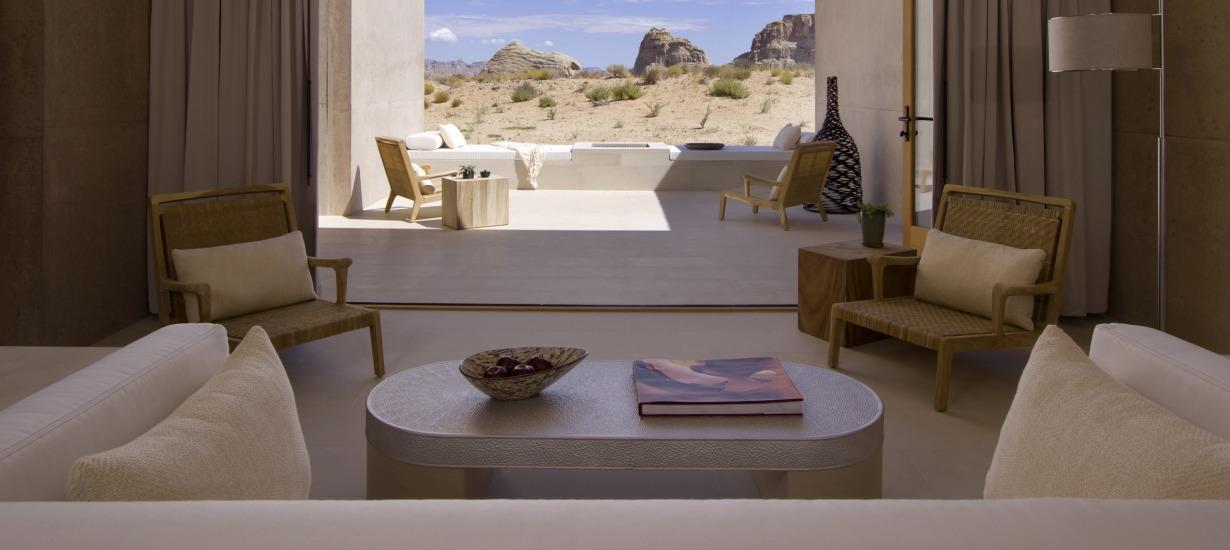 Amangiri - Mesa Suite - Most Beautiful Hotel views
