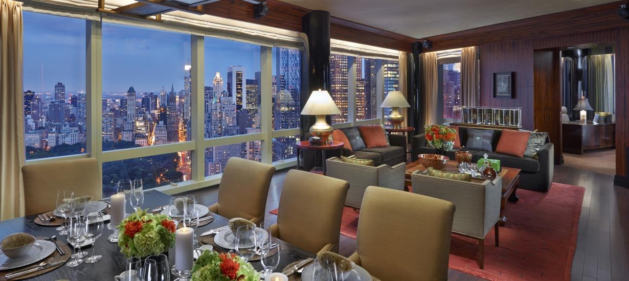 Mandarin Oriental New York - Most beautiful hotel views