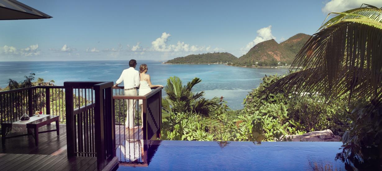 Raffles Praslin - Most beautiful hotel views