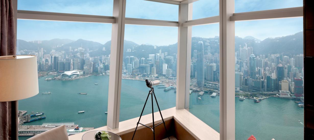 Ritz Carlton Hong Kong - Most beautiful hotel views