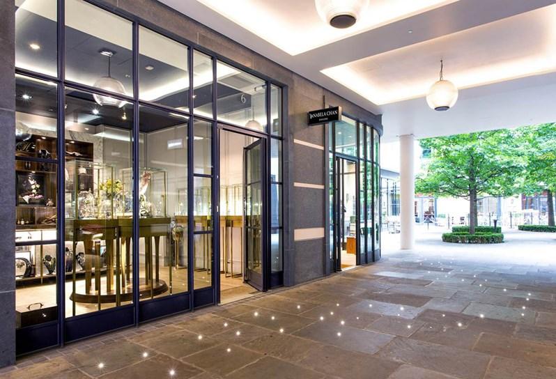 Ham Yard Village - Exterior courtyard - Firmdale Hotels