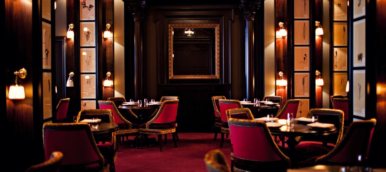 Best hotel restaurant NYC- Nomad Restaurant