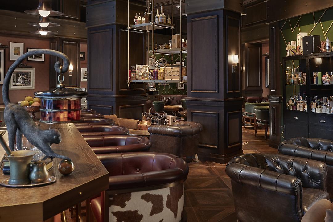 Best hotel restaurants NYC - The Office - Madnarin Oriental New York