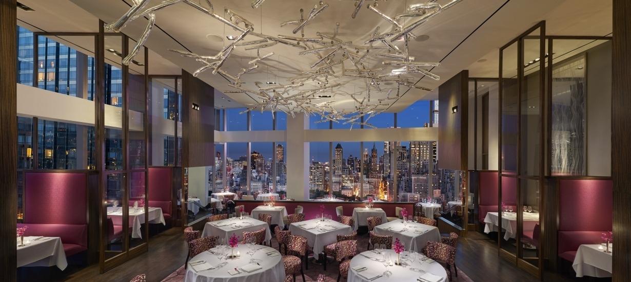 The Best Hotel Restaurants NYC - The Mandarin Oriental Hong Kong - Asiate
