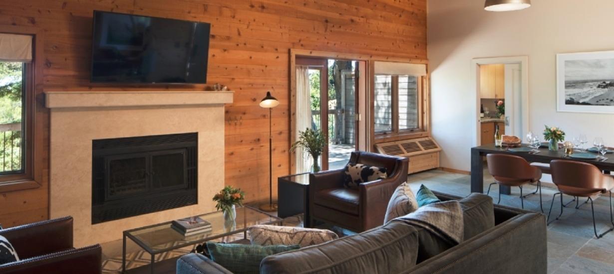 Ventana Big Sur - The Coat House, Living room