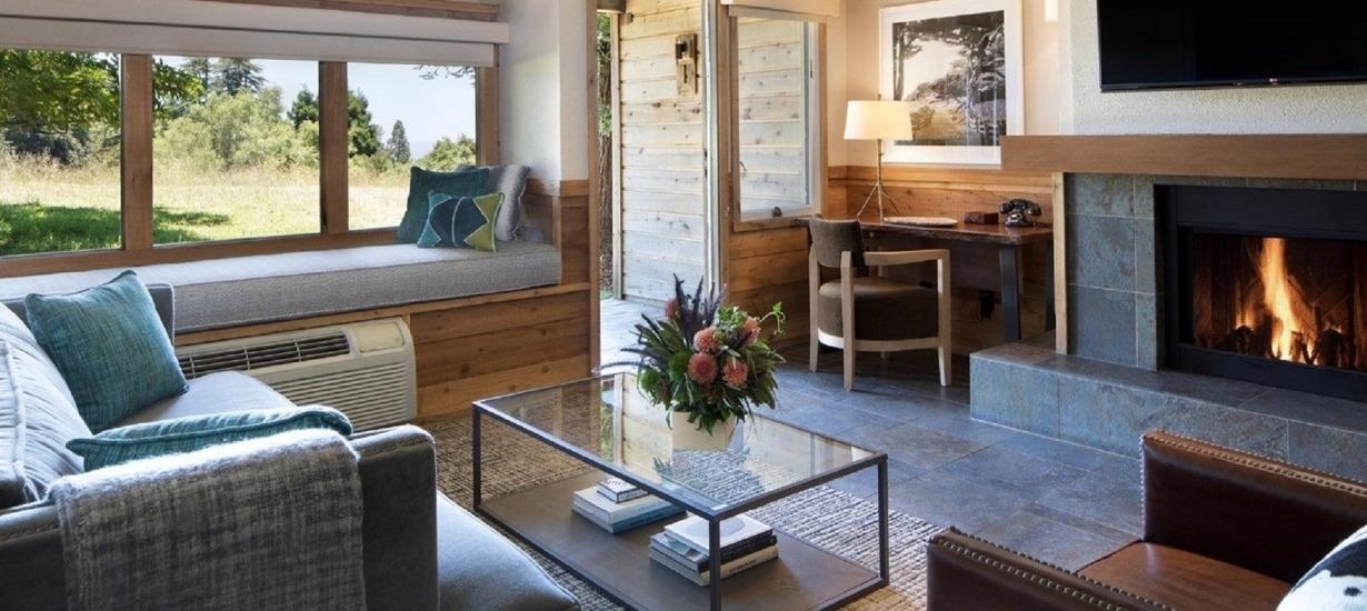 Ventana Big Sur - Villa Living Room