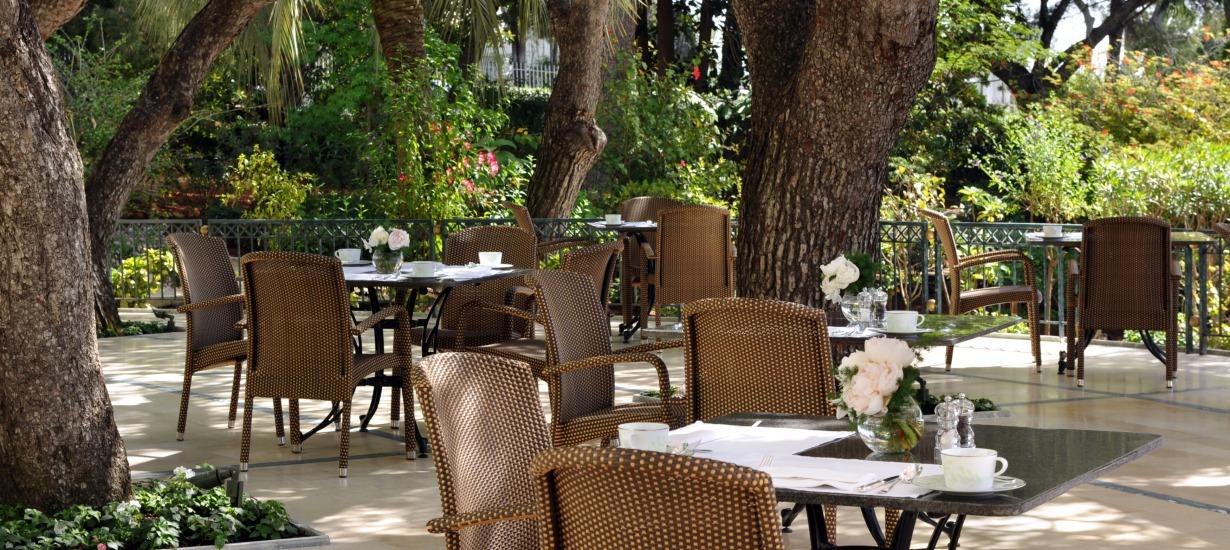 The Four Seasons Grand Hotel du Cap Ferrat - Terrace Restaurant