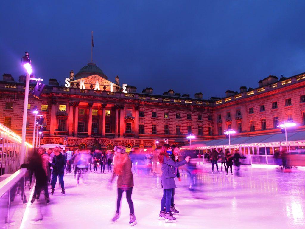 Ice Skating at Somerset House