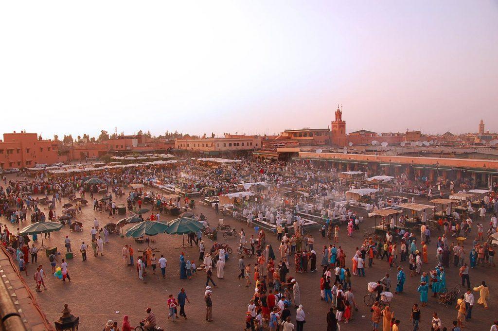 The heart of Marrakech