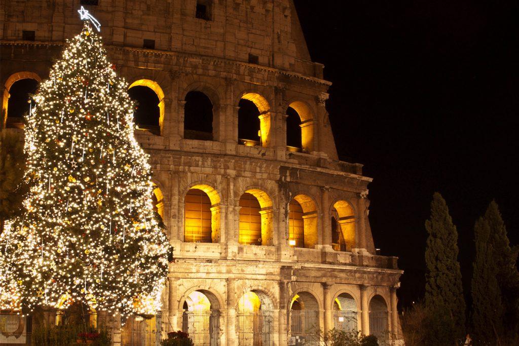 The magic of a Roman Christmas