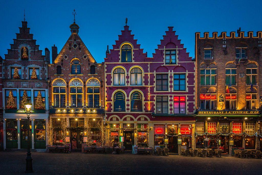 Belgium all festive...