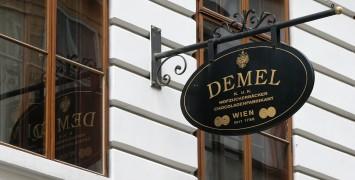 Demel Vienna, a Legendary Coffee House (Café-Konditorei)